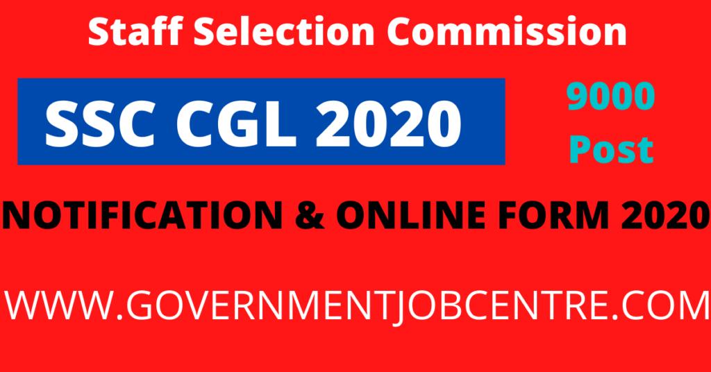 SSC CGL 2020 Online Form